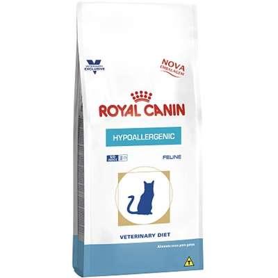 Ração Royal Canin Feline Veterinary Diet Hypoallergenic para Gatos com Alergia Alimentar 1,5kg