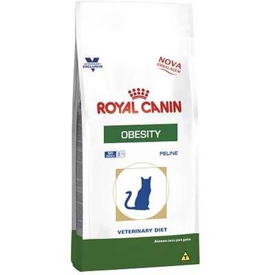 Ração Royal Canin Feline Veterinary Diet Obesity para Gatos Obesos 1,5kg