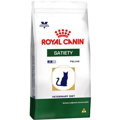 Ração Royal Canin Feline Veterinary Diet Satiety para Gatos Obesos 1,5kg