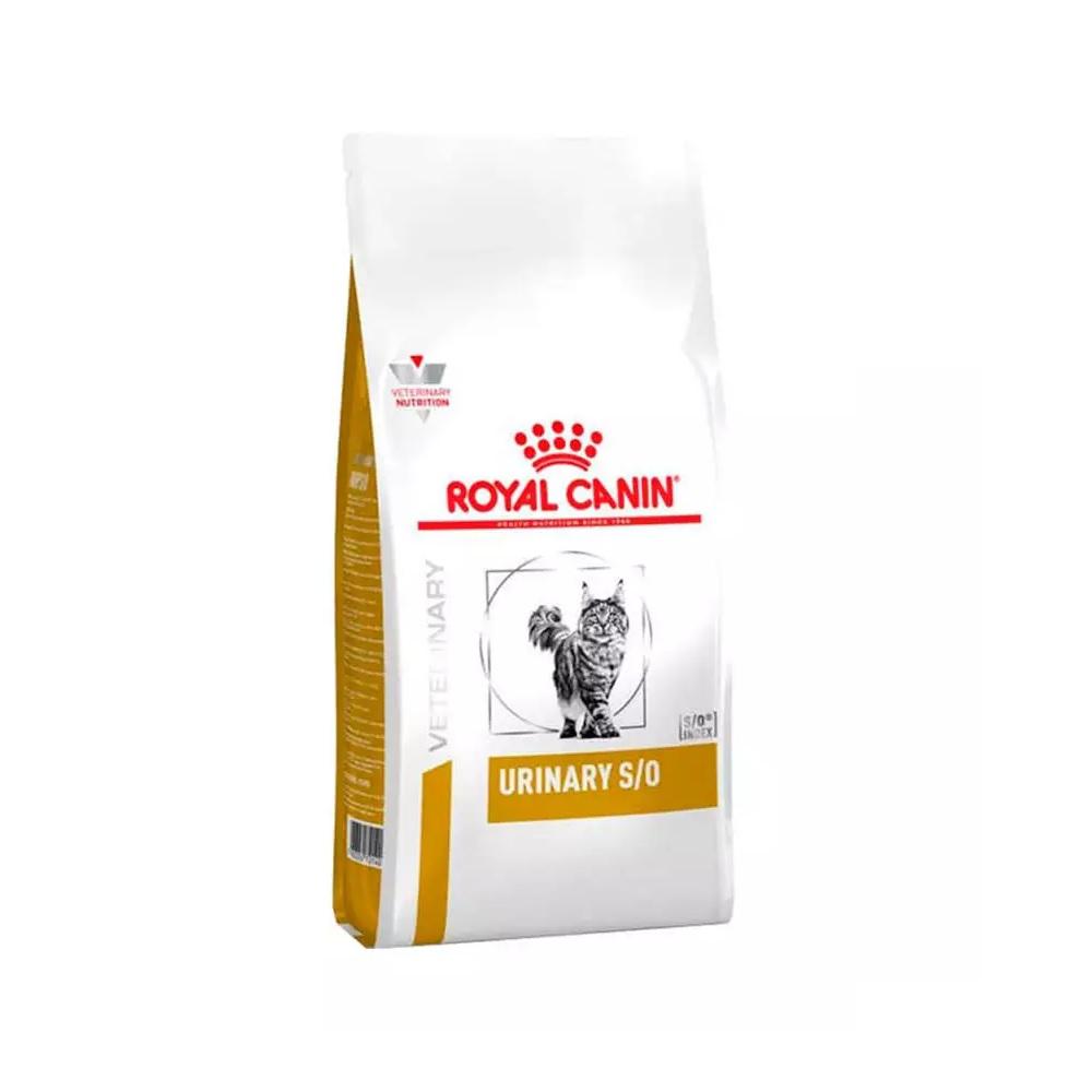 Ração Royal Canin Feline Veterinary Diet Urinary S/O para Gatos com Cálculos Urinários