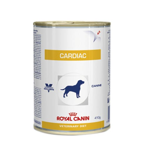Ração Royal Canin Lata Canine Veterinary Diet Cardiac Wet para Cães - 410 g