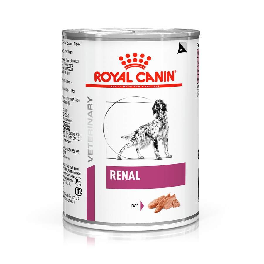 Ração Royal Canin Lata Canine Veterinary Diet Renal Wet para Cães com Doenças Renais