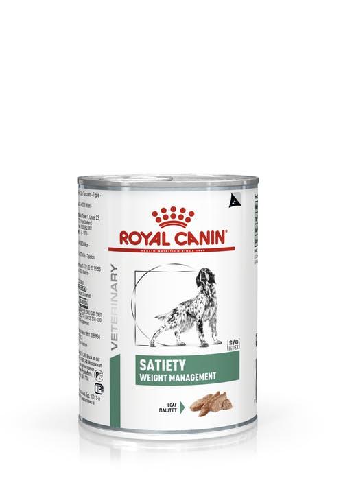 Ração Royal Canin Lata Satiety Support Wet para Cães