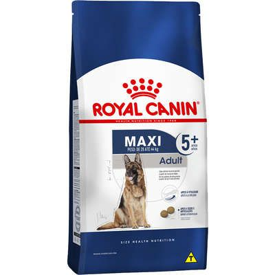Ração Royal Canin Maxi Adult 5+ para Cães Adultos de Raças Grandes com 5 Anos ou mais 15kg
