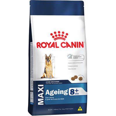 Ração Royal Canin Maxi Ageing 8+ para Cães Adultos de Raças Grandes Idosos com 8 Anos ou mais 15kg