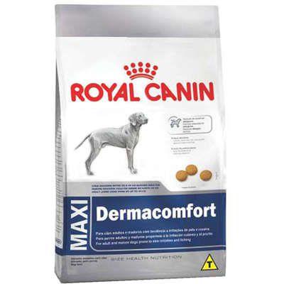 Ração Royal Canin Maxi Dermacomfort para Cães Adultos e Idosos de Raças Grandes 10kg