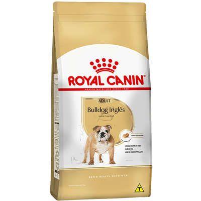 Ração Royal Canin para Cães Adultos da Raça Bulldog Inglês - 12 Kg