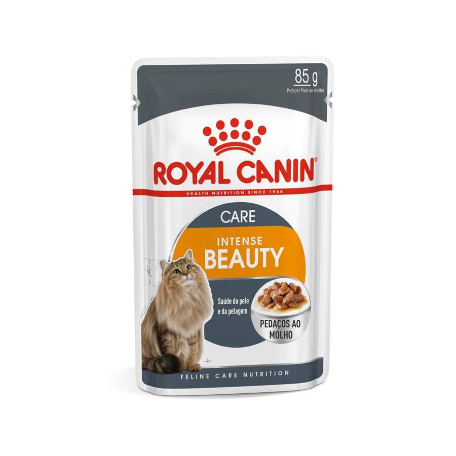 Ração Royal Canin Sachê Feline Intense Beauty para Gatos 85g