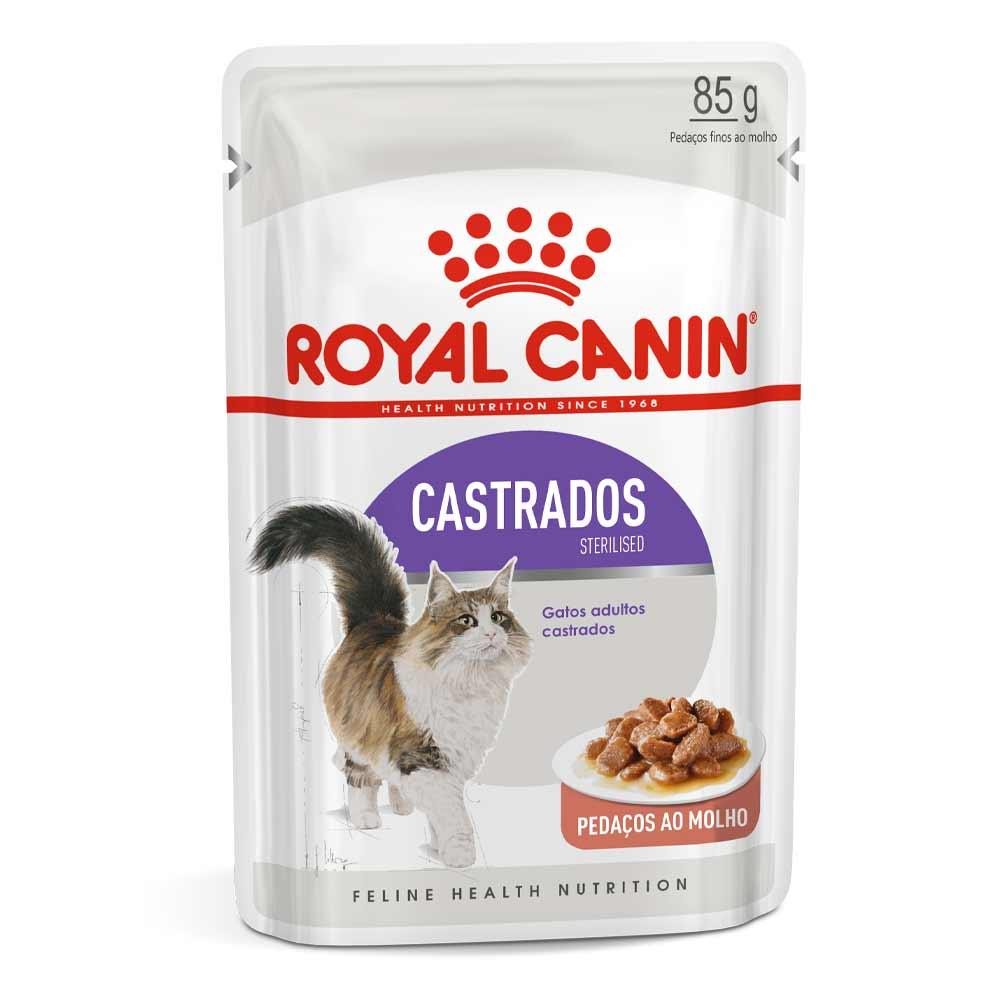 Ração Royal Canin Sachê Feline Sterilised para Gatos Castrados