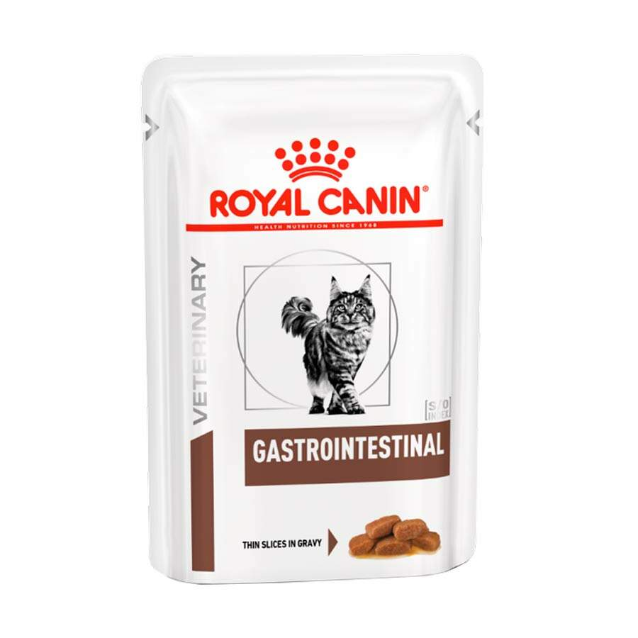 Ração Royal Canin Sachê Feline Veterinary Diet Gastro Intestinal Wet 85g