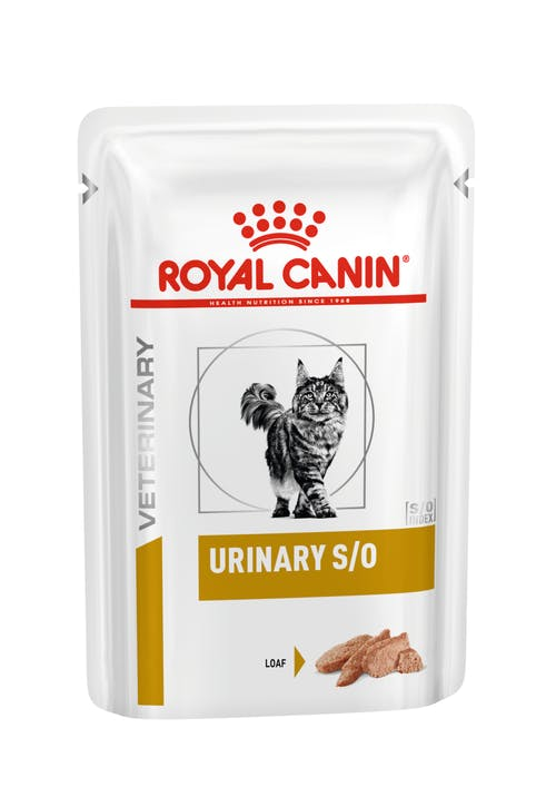 Ração Royal Canin Sachê para Gatos Veterinary Urinary S/O Feline Wet