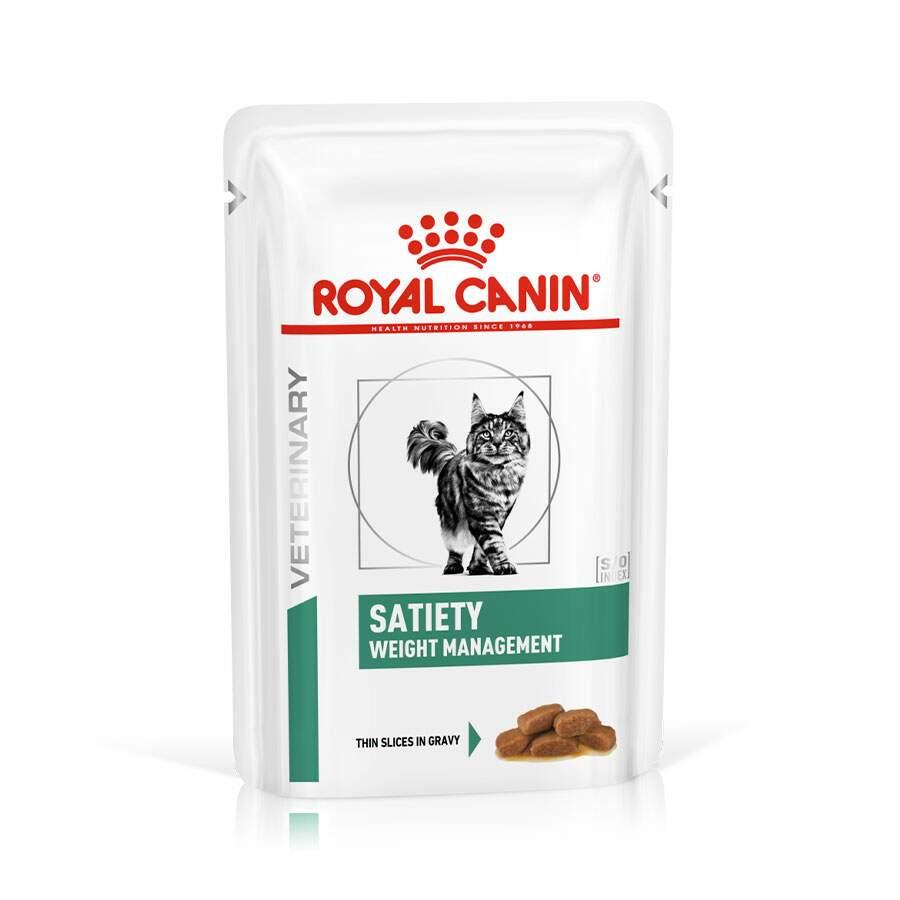 Ração Royal Canin Sachê Satiety Weight Management Para Gatos 85g