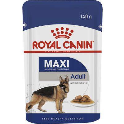 Ração Royal Canin Sachê Size Health Nutrition Adult Wet para Cães Adultos Raças Grandes 140g