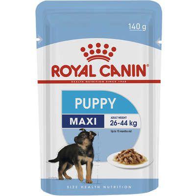 Ração Royal Canin Sachê Size Health Nutrition Puppy Wet para Cães Filhotes Raças Grandes 140g
