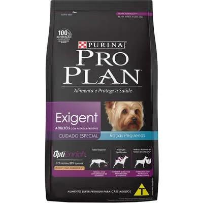 Ração Seca Nestlé Purina Pro Plan Exigentes Frango para Cães Adultos Raças Pequenas