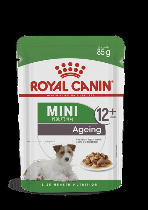 Ração Úmida Royal Canin Sachê para Cães Adultos Raças Pequenas a partir de 12 Anos