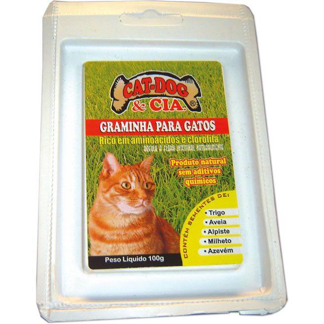 Sementes de Graminha para Gatos (50g)