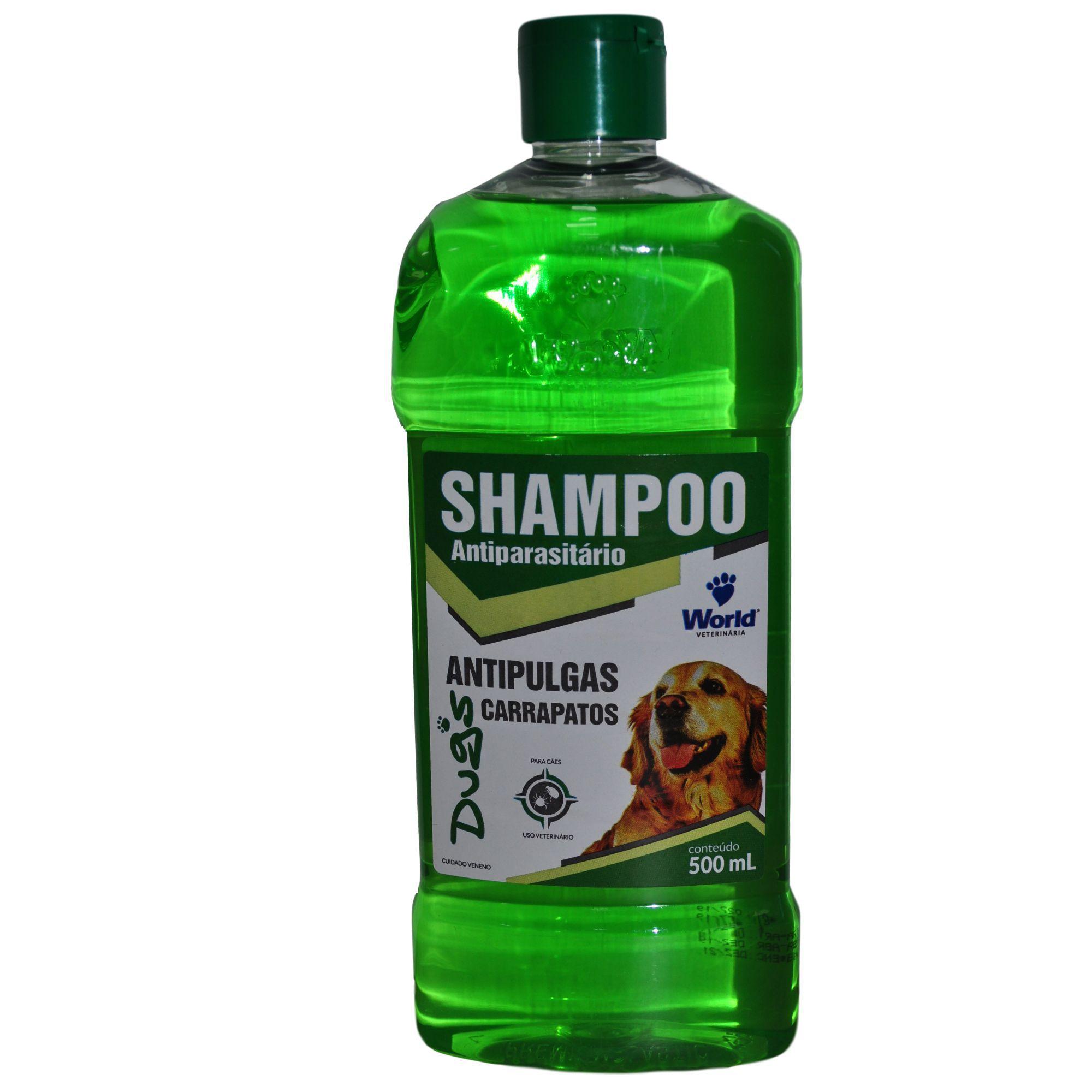Shampoo Anti-Pulgas e Carrapato Dug's para Cachorro