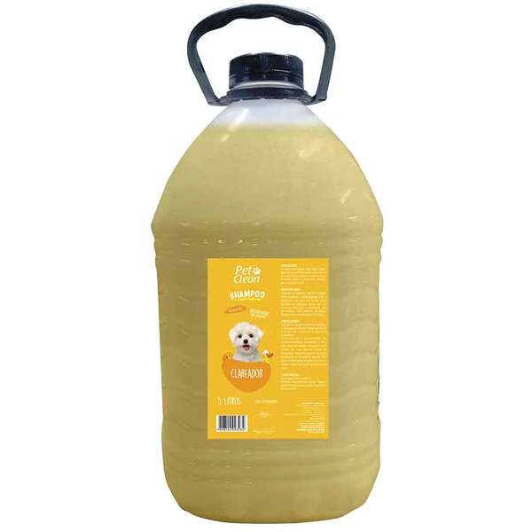 Shampoo Pet Clean Clareador 5L
