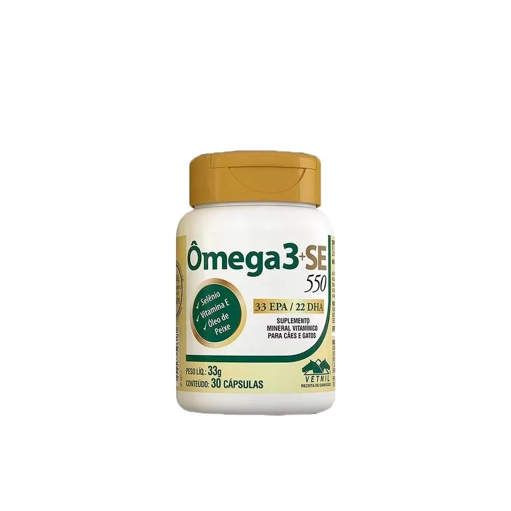 Suplemento Ômega3+SE 550 Vetnil