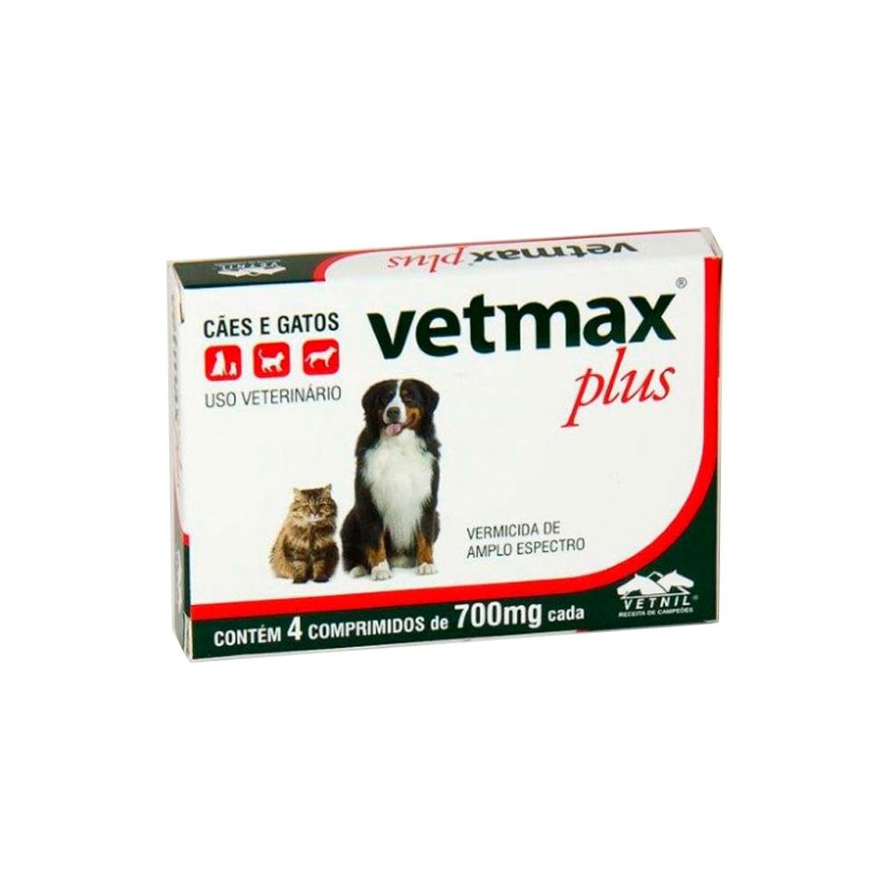 Vetmax Plus 4 comprimidos