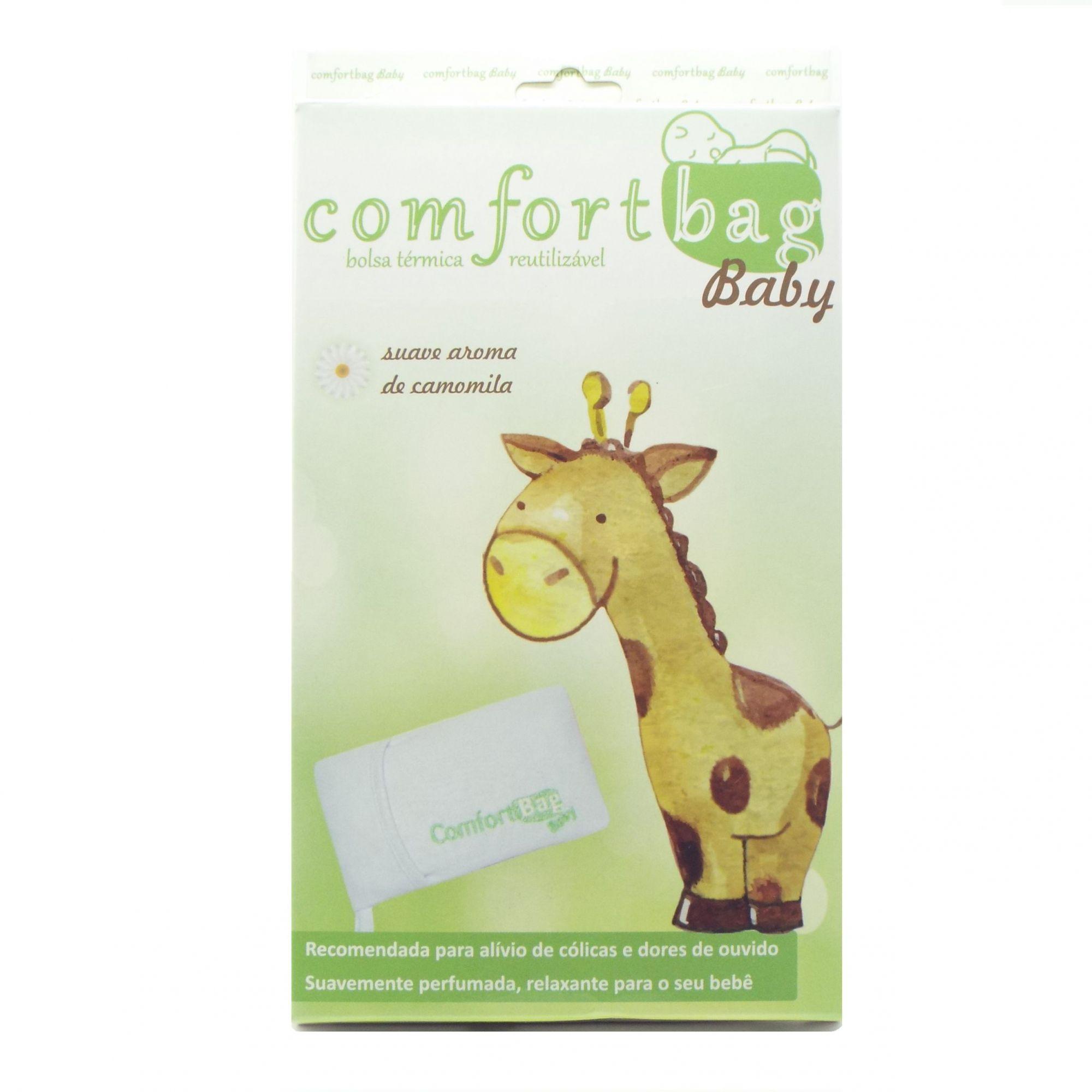 Bolsa térmica reutilizável com gel para alívio de cólicas Confort Bag Baby