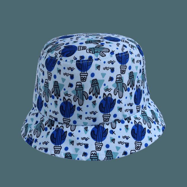 Chapéu para bebê em microfibra estampado Boneleska - menino