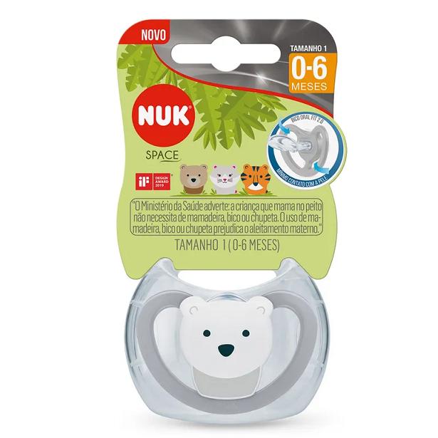Chupeta NUK Space PA7333 - Urso