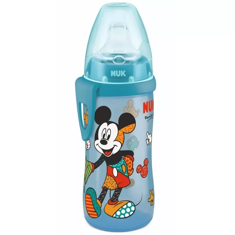 Copo antivazamento Active Cup NUK - Romero Britto Mickey - 300ml 12m+