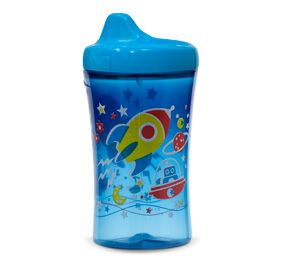 Copo antivazamento My First NUK - Espacial Azul - 295ml 12m+