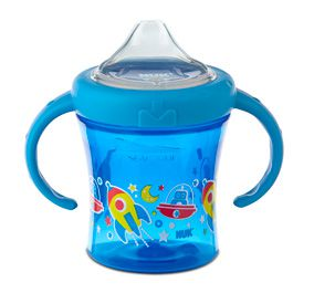 Copo antivazamento My First NUK - Espacial Azul - 200ml 6m+