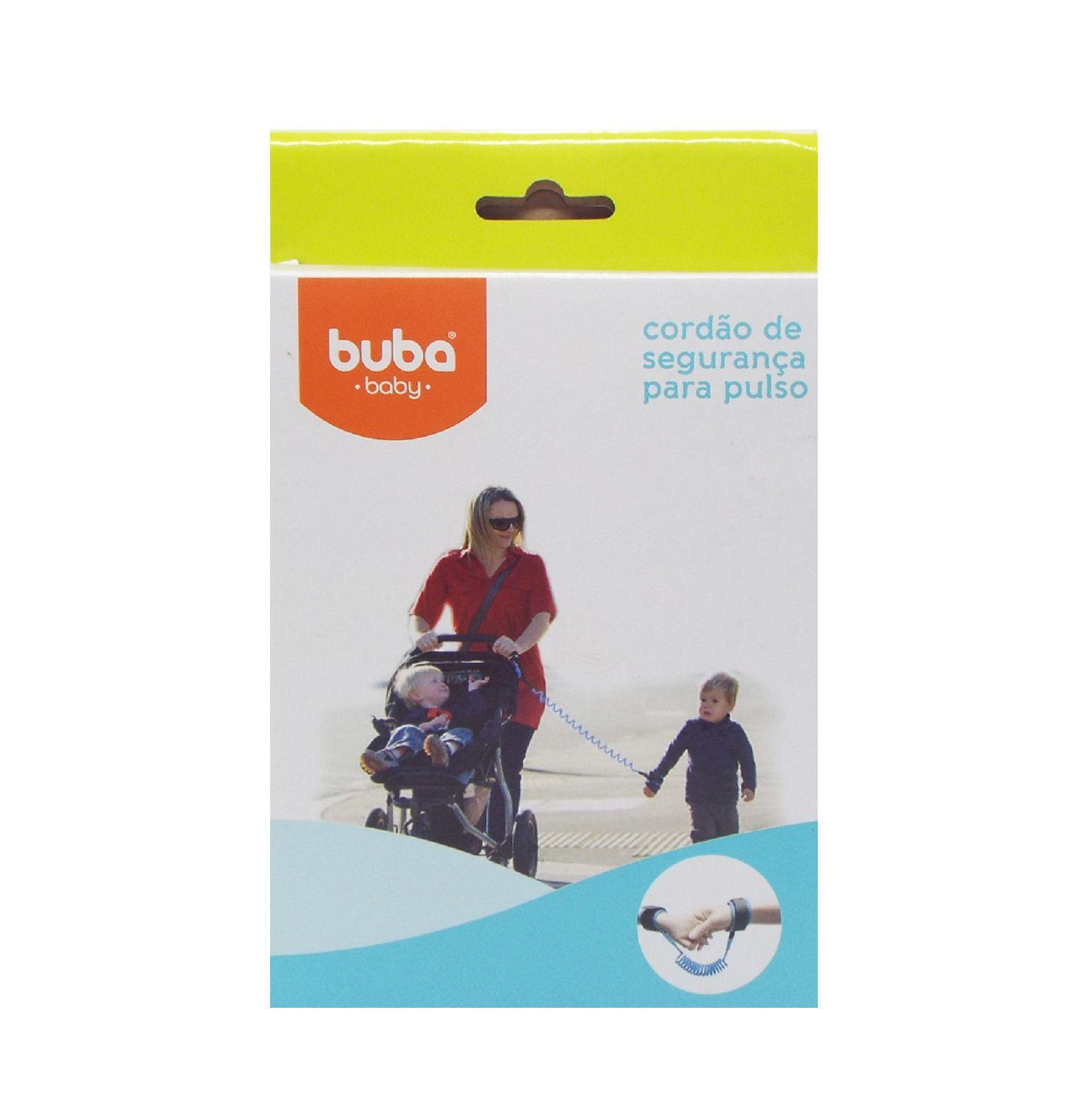 Cordão de segurança para pulso em nylon com fechamento à velcro Buba Baby