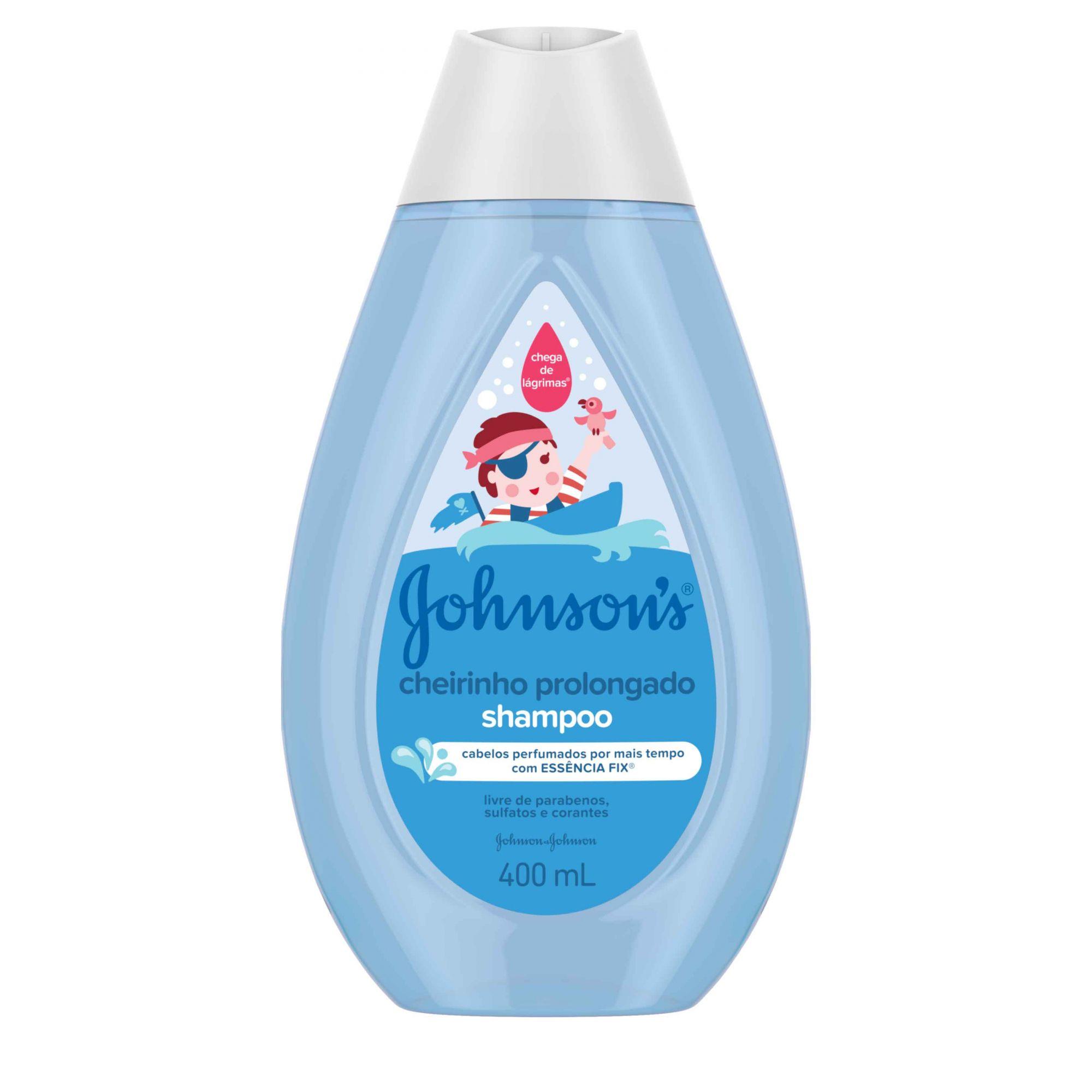 Shampoo Cheirinho Prolongado Johnson's Baby - 200ml