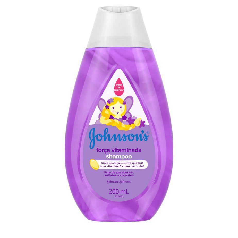Shampoo Força Vitaminada  Johnson's Baby - 200ml