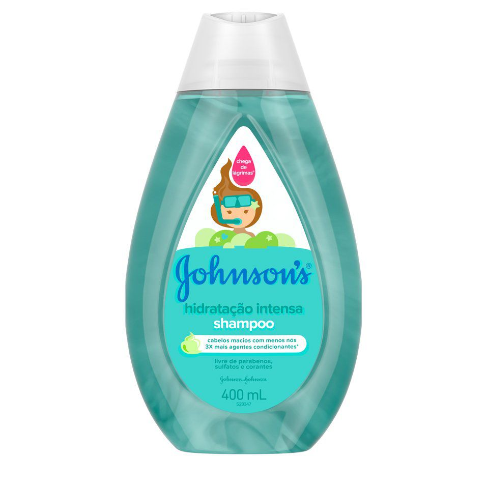 Shampoo Hidratação Intensa Johnson's Baby - 200ml