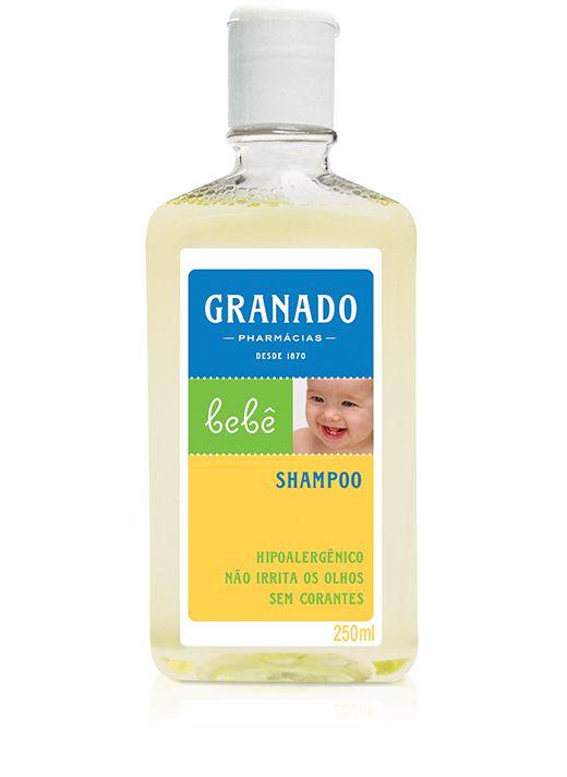 Shampoo Hipoalergênico Tradicional Granado Bebê - 250ml