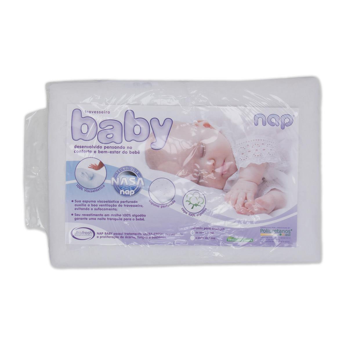 Travesseiro Nap Baby - Nasa
