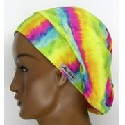 TF049 - Touca Amini Tie Dye Amarela