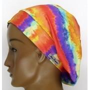 TF051 - Touca Amini Tie Dye Laranja