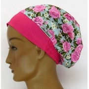 TF615 - Touca Floral Pink