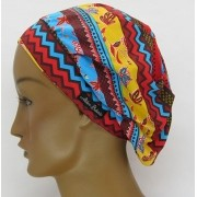TF648 - Touca Amini Estampa Afro