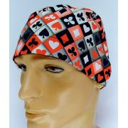 TM123 - Gorro estampa Naipes