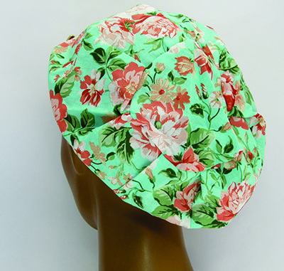 TF034 - Touca Estampa Floral  - Atelier Babinski