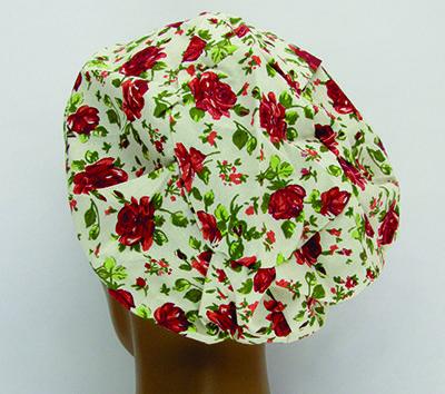 TF039 - Touca estampa Floral  - Atelier Babinski