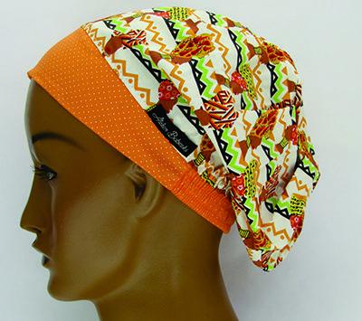 TF095 - Touca Estampa Afro  - Atelier Babinski