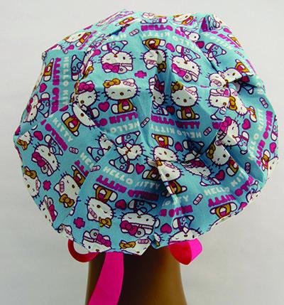 TF110 - Touca estampa Hello Kitty enfermagem  - Atelier Babinski