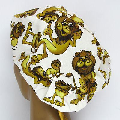 TF553 - Touca estampa Leões  - Atelier Babinski