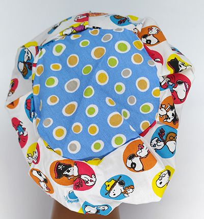 TF591 - Touca estampa Snoopy bolas  - Atelier Babinski