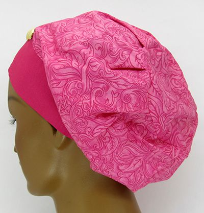 TF600 - Touca Arabescos Pink  - Atelier Babinski