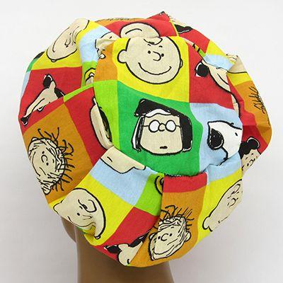 TF608 - Touca Estampa Snoopy  - Atelier Babinski